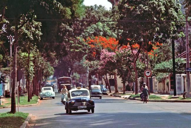 Những góc Sài Gòn xưa yên bình qua loạt ảnh màu Ảnh 1