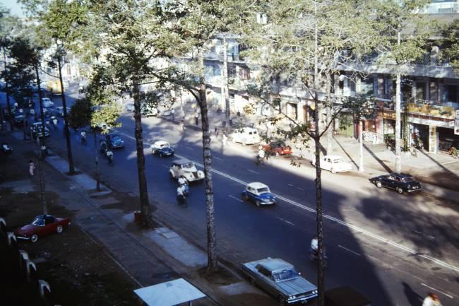 Những góc Sài Gòn xưa yên bình qua loạt ảnh màu Ảnh 6