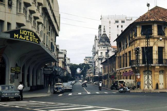 Những góc Sài Gòn xưa yên bình qua loạt ảnh màu Ảnh 9