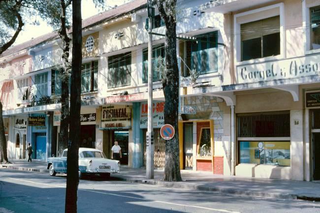 Những góc Sài Gòn xưa yên bình qua loạt ảnh màu Ảnh 4