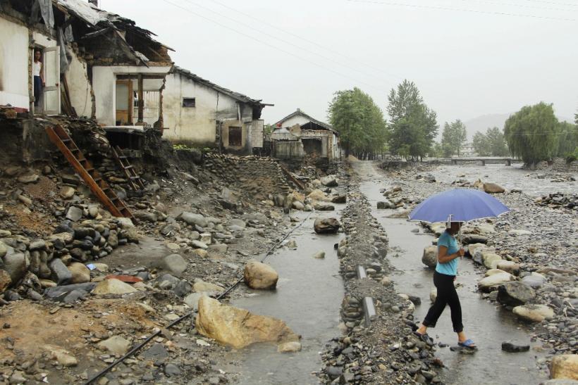 Siêu bão đổ bộ Triều Tiên, 5 người thiệt mạng Ảnh 1