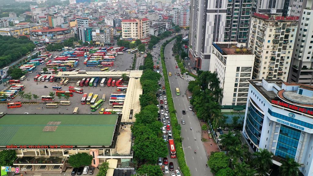 Phạm Hùng - Nguyễn Hoàng, nút giao bát nháo nhất phía tây thủ đô Ảnh 2