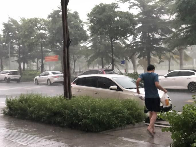 TP HCM mưa, dông lớn Ảnh 3