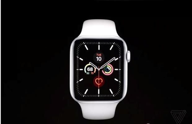 Apple Watch Series 5 có màn hình luôn bật và thêm vỏ titan, gốm Ảnh 1