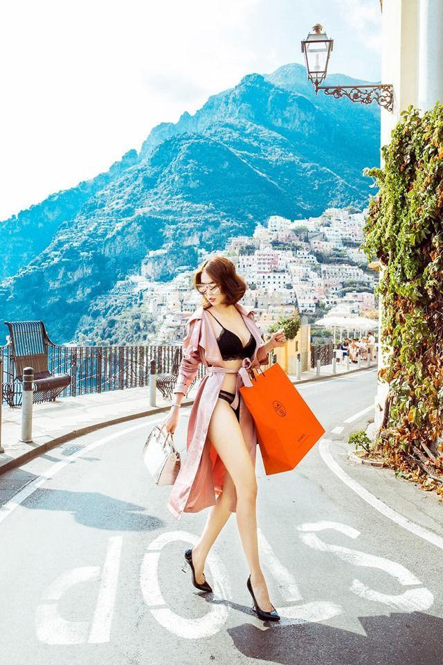 Ngọc Trinh lại gây shock khi mặc nội y đi shopping ở Châu Âu, người khen đẹp - kẻ chê phản cảm Ảnh 1