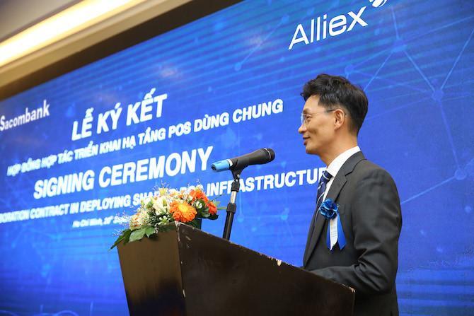 Sacombank tiên phong ký kết xài POS chung với Alliex Việt Nam Ảnh 3