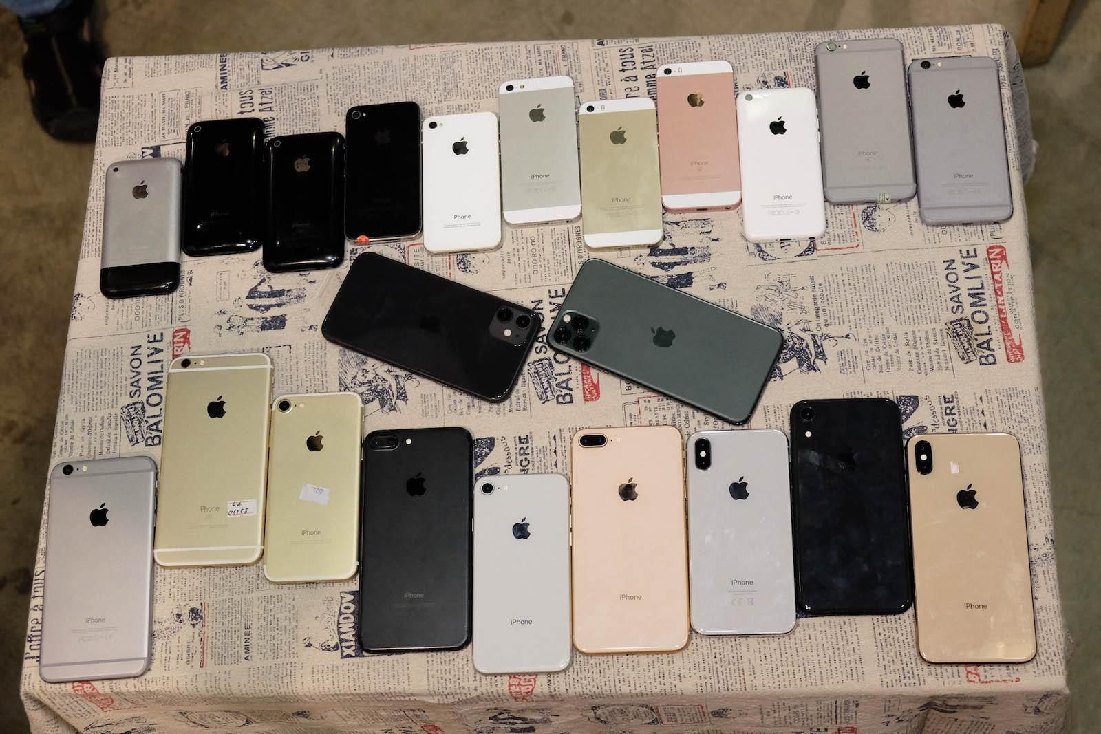 Chiêm ngưỡng bộ sưu tập từ iPhone 1 đến iPhone 11 Pro Max Ảnh 6