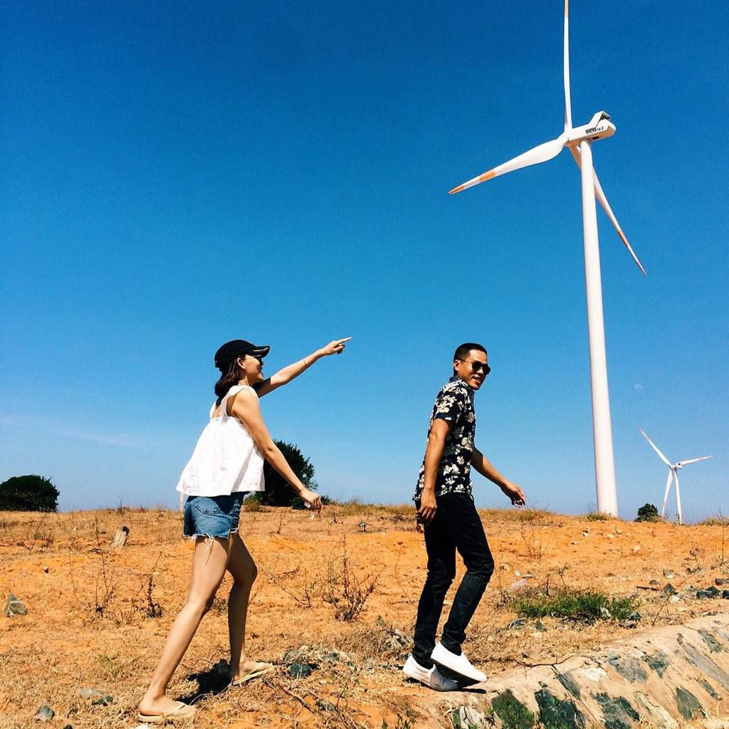 4 cánh đồng quạt gió ở Việt Nam được hội mê sống ảo săn lùng Ảnh 4