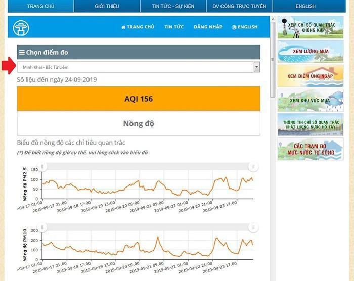 Hướng dẫn xem chỉ số chất lượng không khí ở Việt Nam Ảnh 4