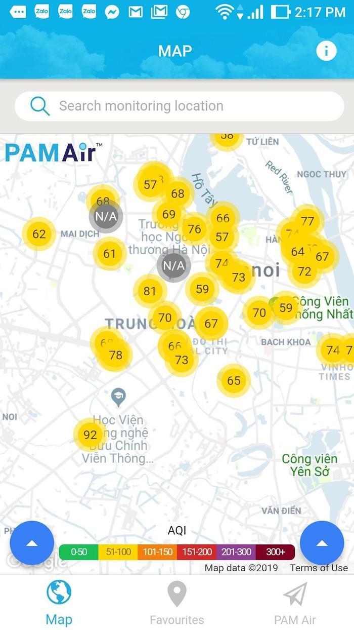 Hướng dẫn xem chỉ số chất lượng không khí ở Việt Nam Ảnh 3