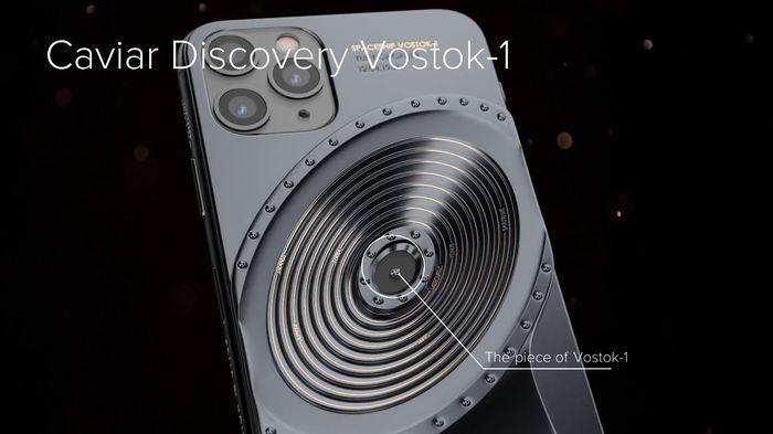 Phiên bản iPhone 11 được chế tác từ mảnh vỡ tàu Titanic và tàu vũ trụ Vostok-1, giá từ 784 triệu đồng Ảnh 3