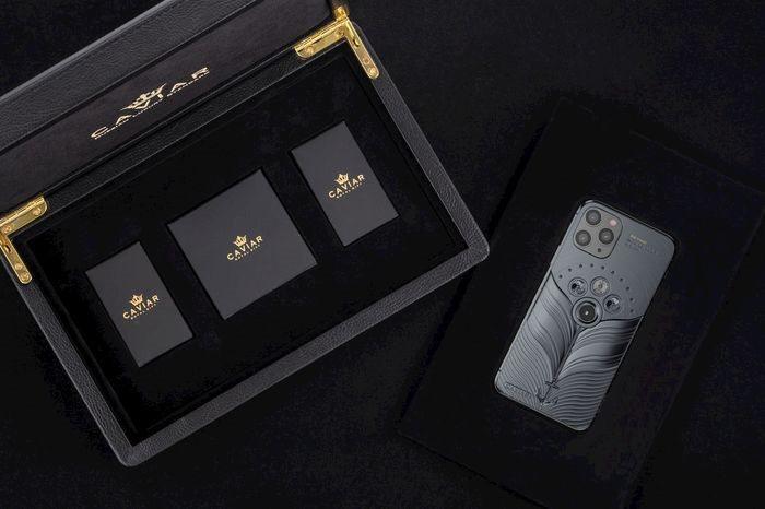 Phiên bản iPhone 11 được chế tác từ mảnh vỡ tàu Titanic và tàu vũ trụ Vostok-1, giá từ 784 triệu đồng Ảnh 5