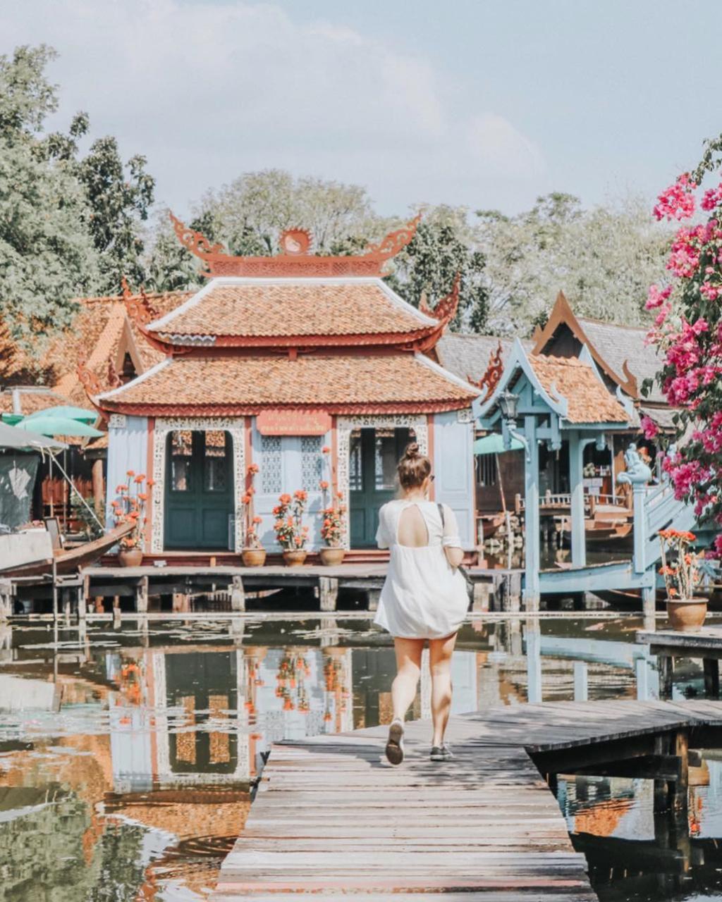 Thủy quái bao quanh ngôi đền trong thành cổ ở Thái Lan Ảnh 9