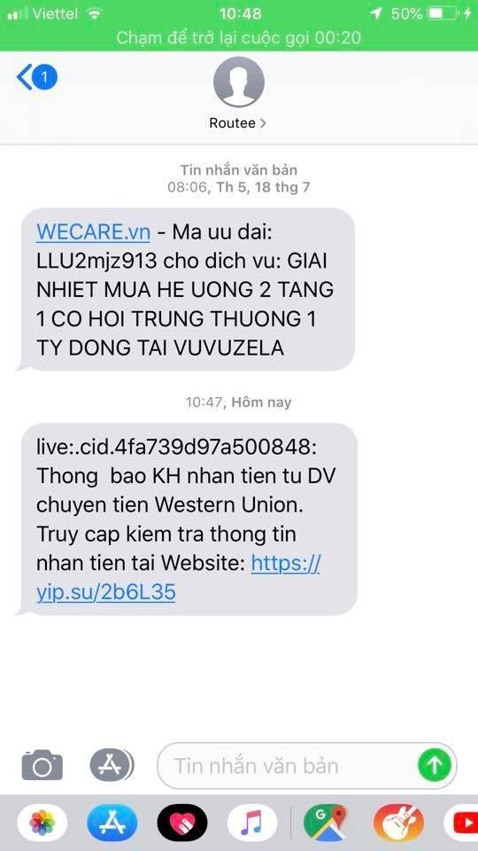 Tội phạm ngân hàng: Mạo danh Western Union lừa đảo nhà bán hàng online Ảnh 2