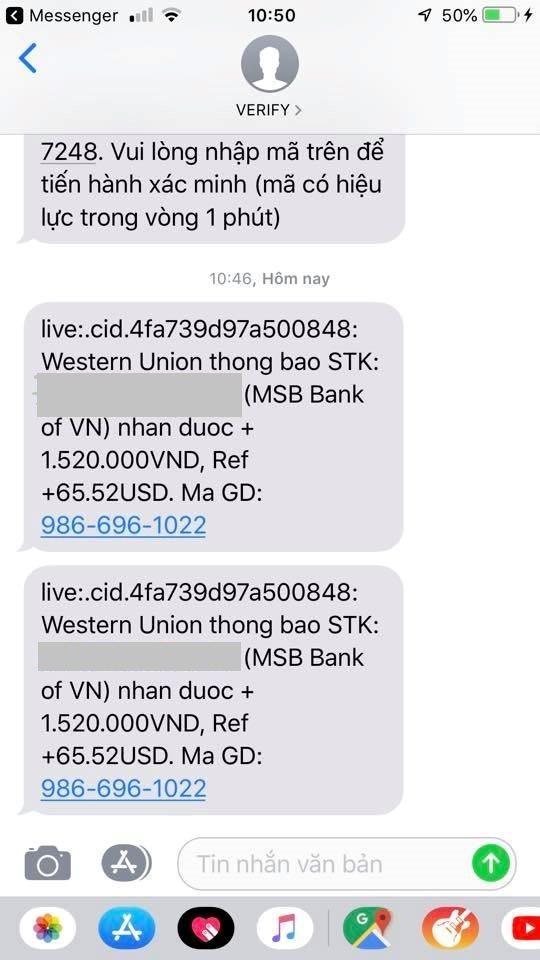 Tội phạm ngân hàng: Mạo danh Western Union lừa đảo nhà bán hàng online Ảnh 3