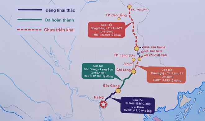 Cao tốc Bắc Giang - Lạng Sơn thông xe kỹ thuật Ảnh 2