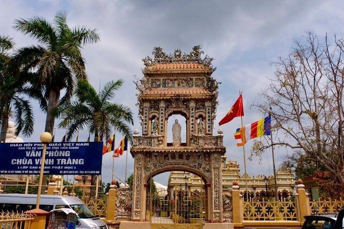 Chùa Vĩnh Tràng - Ngôi Chùa nổi tiếng Miền Tây Ảnh 5