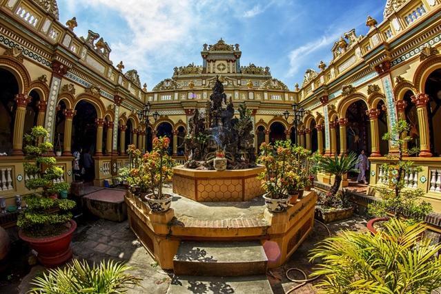 Chùa Vĩnh Tràng - Ngôi Chùa nổi tiếng Miền Tây Ảnh 1