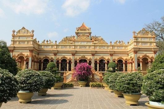 Chùa Vĩnh Tràng - Ngôi Chùa nổi tiếng Miền Tây Ảnh 6