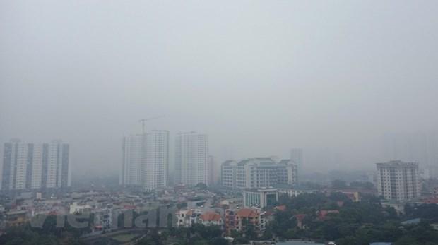 Sau 'cơn mưa vàng' chỉ số ô nhiễm ở Hà Nội lại 'đỏ rực' Ảnh 2