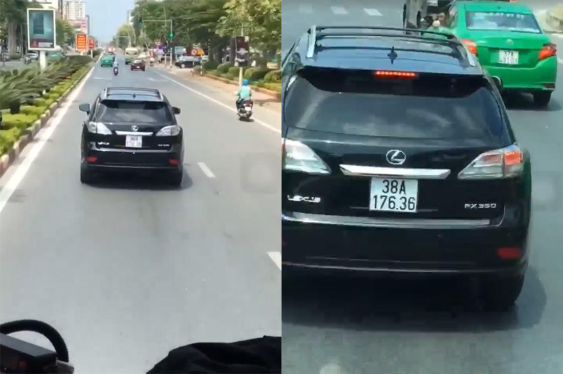 Lái xe Lexus chặn xe cứu hỏa ở Nghệ An giải thích lý do