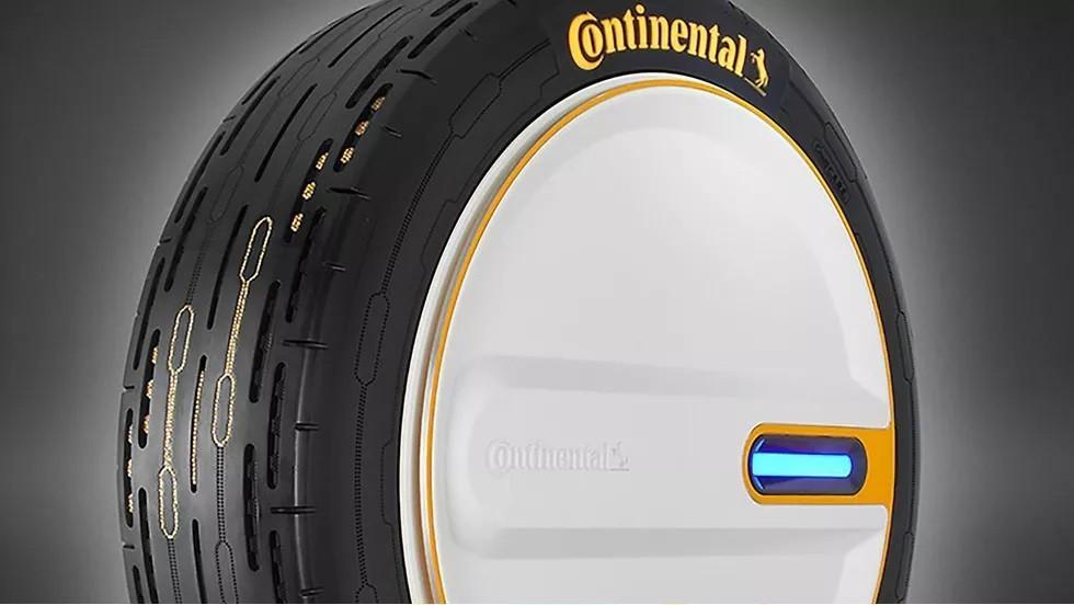 Phát minh ra loại lốp có khả năng tự bơm hơi Ảnh 2