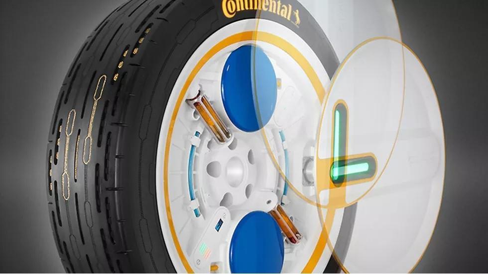 Phát minh ra loại lốp có khả năng tự bơm hơi Ảnh 1