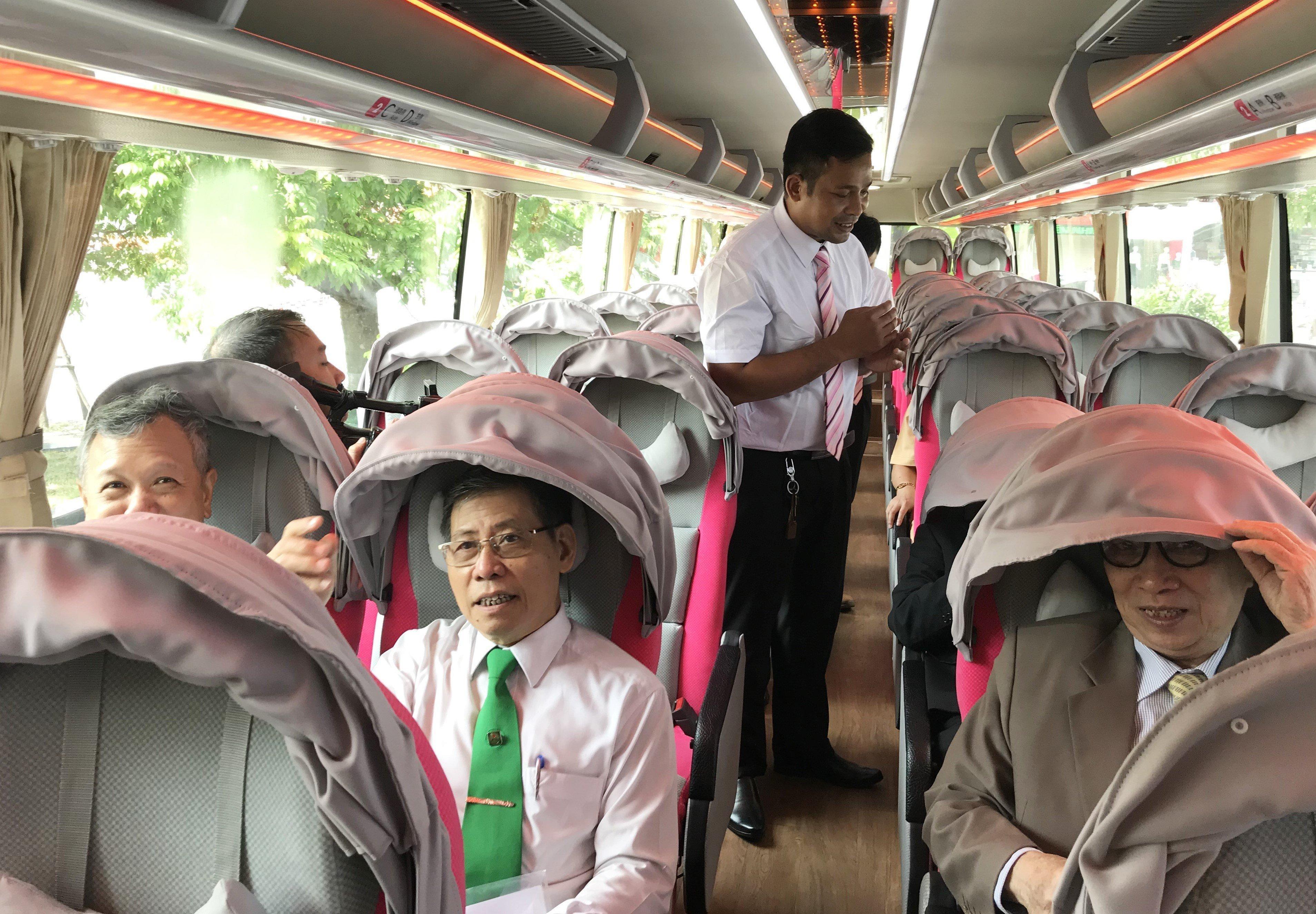 Ra mắt xe khách tuyến Hà Nội - Thanh Hóa theo chuẩn dịch vụ Nhật Bản Ảnh 1