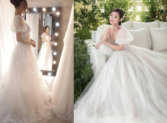 Góc thú vị: Thì ra váy cưới Đông Nhi là phiên bản 'chị em' với đầm cưới Nhã Phương Ảnh 8