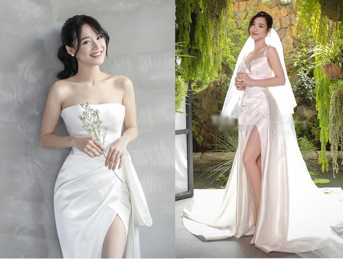 Góc thú vị: Thì ra váy cưới Đông Nhi là phiên bản 'chị em' với đầm cưới Nhã Phương Ảnh 7