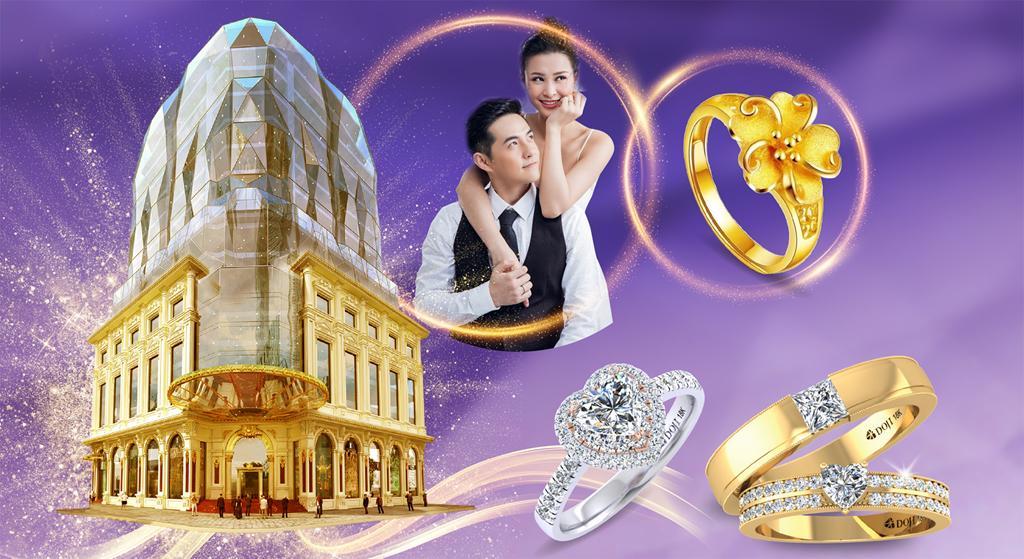 Với cô dâu, vàng và kim cương không chỉ là vật chất Ảnh 1