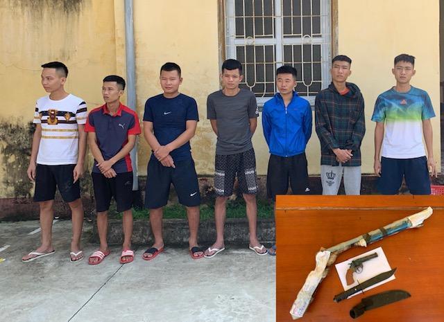 Vụ truy sát bằng súng ở TP Sầm Sơn: Tạm giữ hình sự 7 đối tượng Ảnh 1