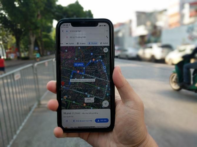 Làm thế nào để sử dụng Google Maps với thực tế tăng cường tại Việt Nam? Ảnh 2