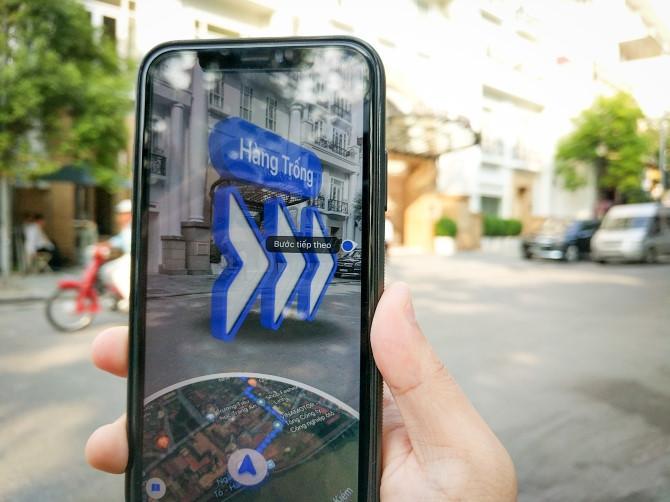Làm thế nào để sử dụng Google Maps với thực tế tăng cường tại Việt Nam? Ảnh 3