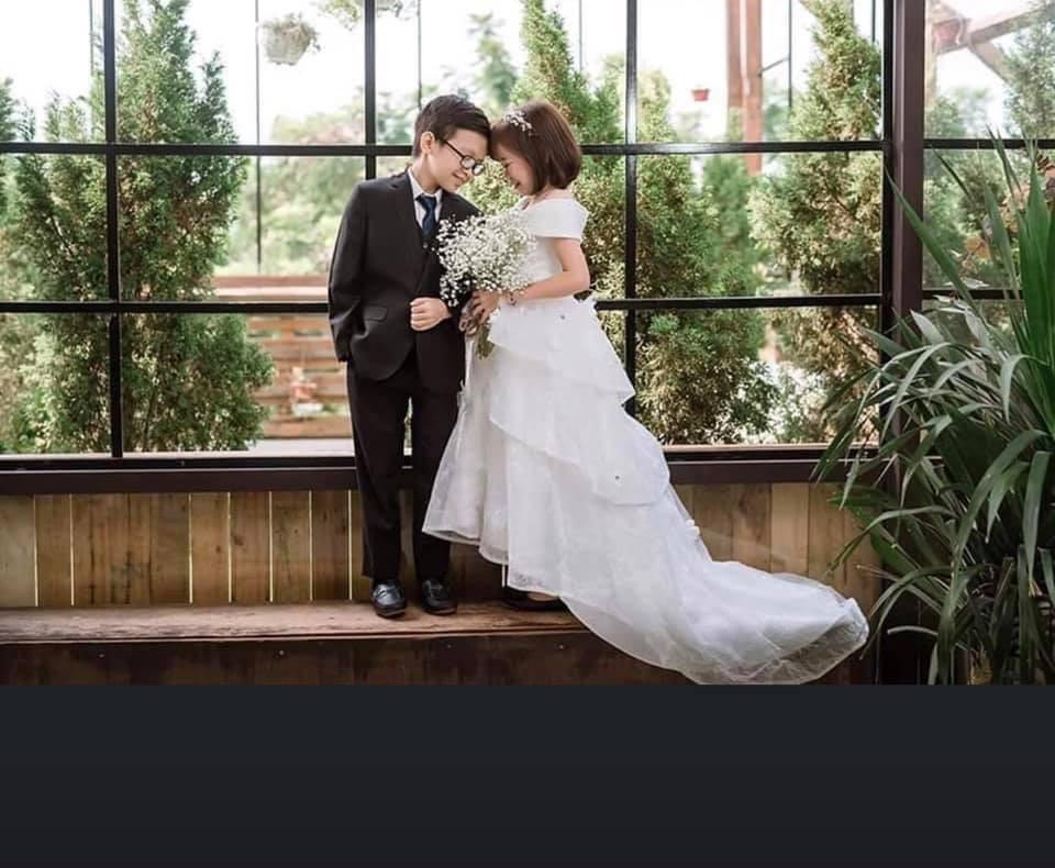 Ảnh cưới của chàng tý hon và cô giáo 1,2m gây sốt cộng đồng mạng Ảnh 9