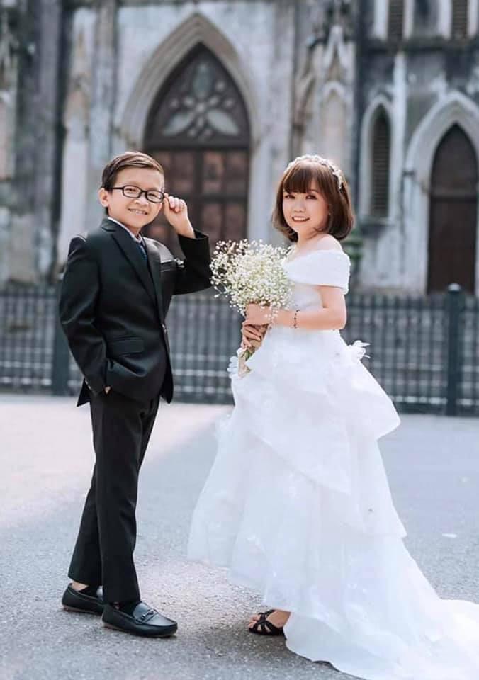 Ảnh cưới của chàng tý hon và cô giáo 1,2m gây sốt cộng đồng mạng Ảnh 6