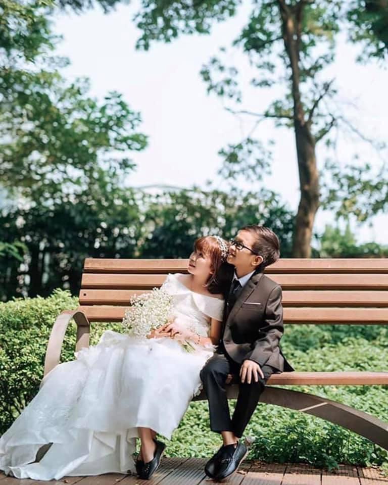 Ảnh cưới của chàng tý hon và cô giáo 1,2m gây sốt cộng đồng mạng Ảnh 5