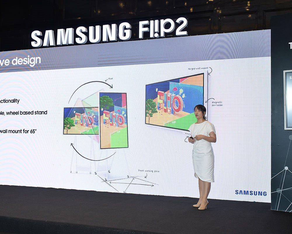 Samsung Vina và CMC đưa ra thị trường bảng thông minh Samsung Flip dành cho hội họp, đào tạo Ảnh 3