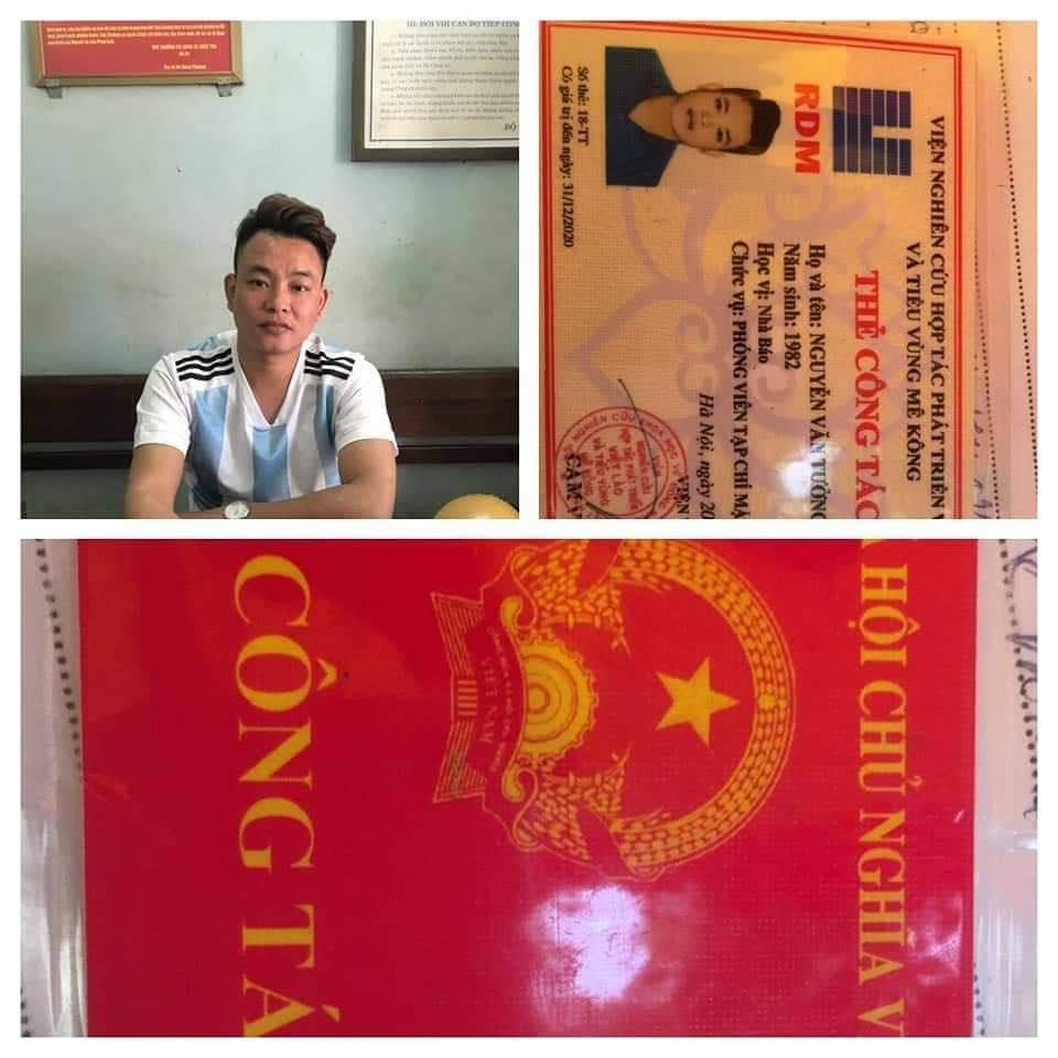Không đội MBH gặp CSGT mang thẻ nhà báo 'dỏm' ra xin bỏ qua Ảnh 1