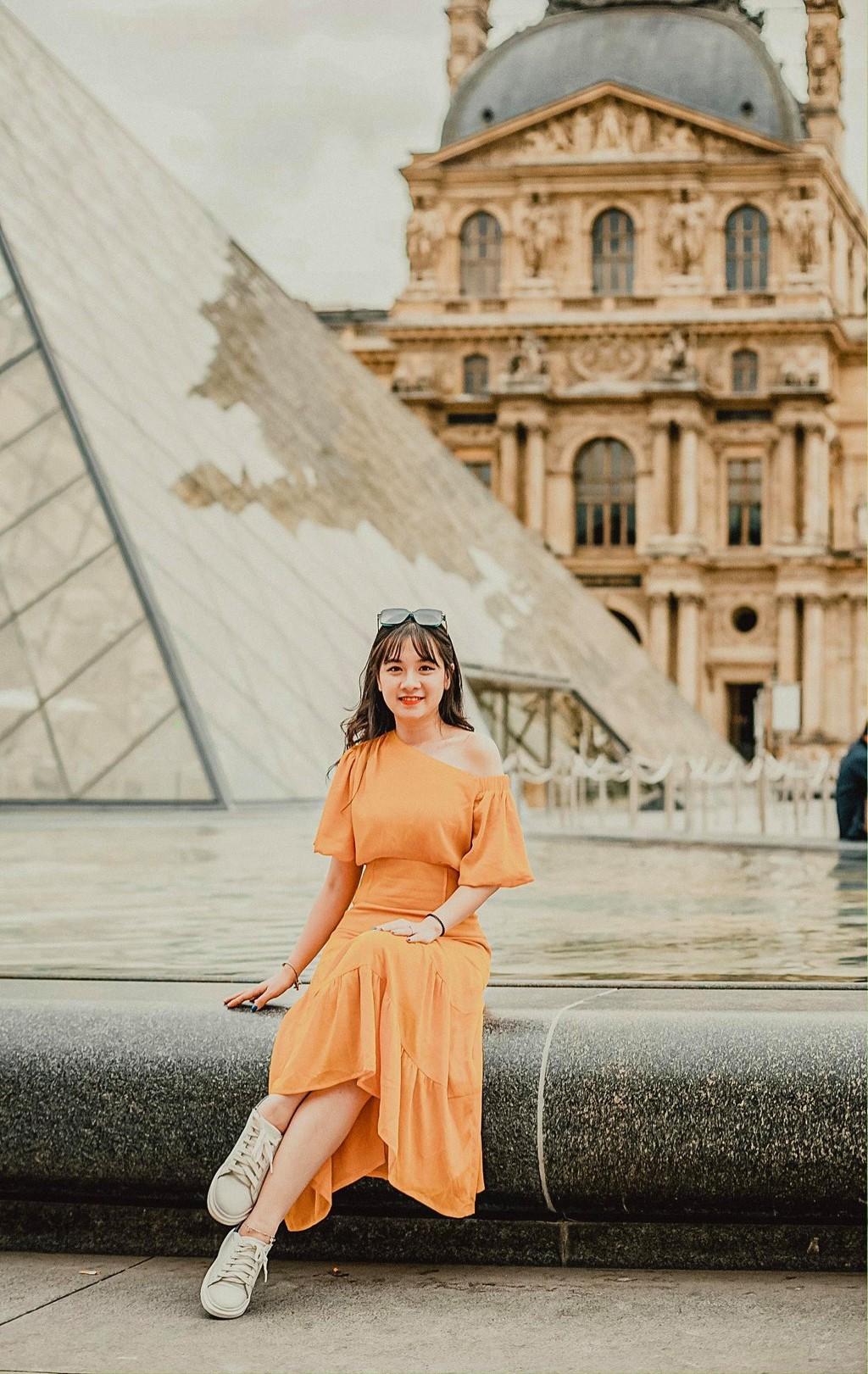 9X thực hiện giấc mơ Paris trong chuyến đi mùa thu Ảnh 4