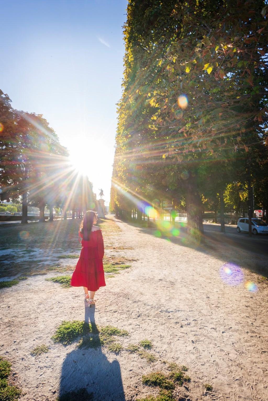 9X thực hiện giấc mơ Paris trong chuyến đi mùa thu Ảnh 9