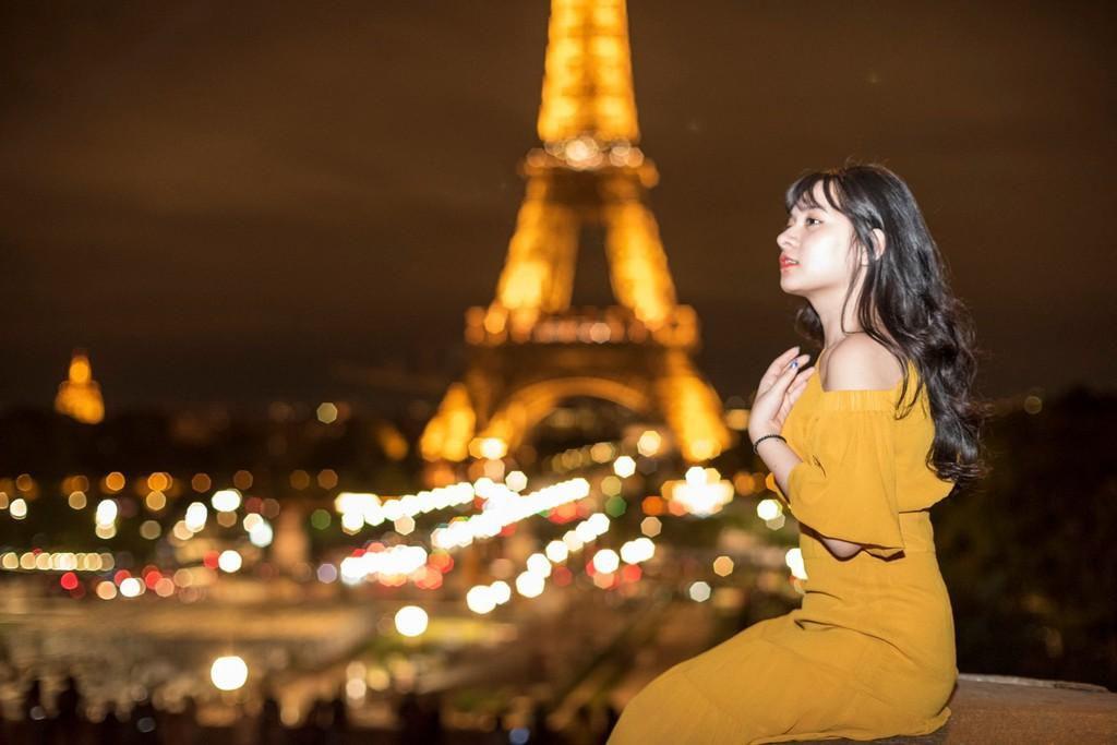 9X thực hiện giấc mơ Paris trong chuyến đi mùa thu Ảnh 7