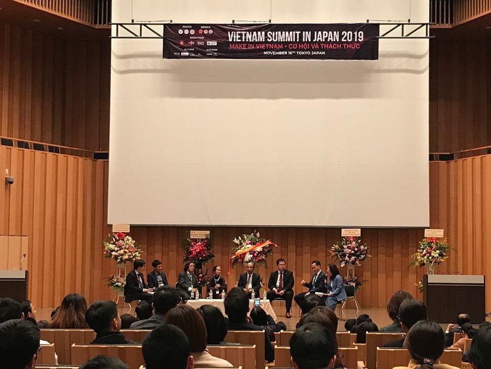 Diễn đàn Trí thức Việt Nam ltại Nhật Bản thu hút gần 1.000 người tham dự Ảnh 1