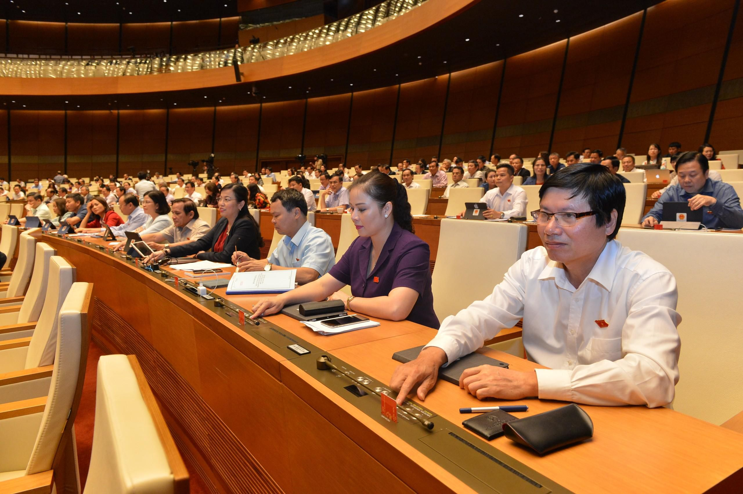 Quốc hội thông qua Bộ luật Lao động sửa đổi Ảnh 1