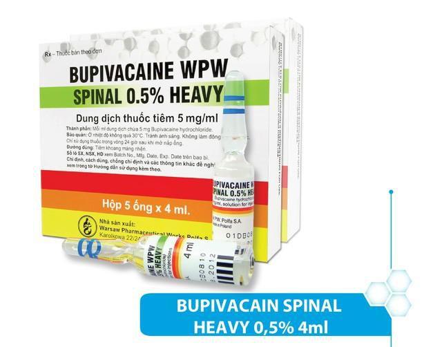 Bộ Y tế yêu cầu khẩn trương rà soát thuốc gây tê chứa bupivacaine Ảnh 1