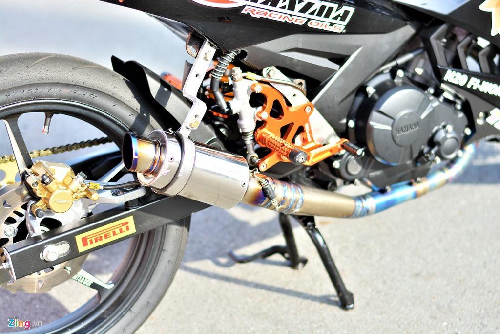 Yamaha Exciter 150 thay đổi ra sao để biến thành xe đua? Ảnh 11