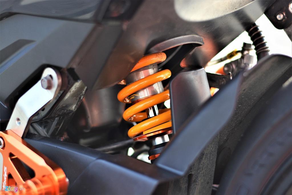 Yamaha Exciter 150 thay đổi ra sao để biến thành xe đua? Ảnh 6