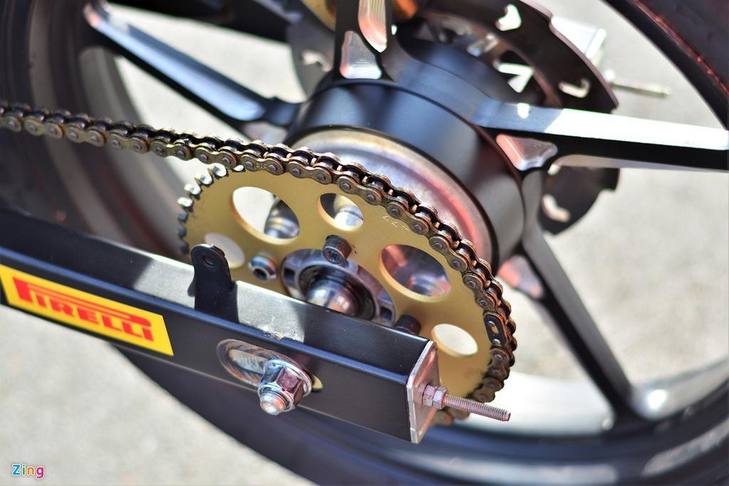 Yamaha Exciter 150 thay đổi ra sao để biến thành xe đua? Ảnh 8