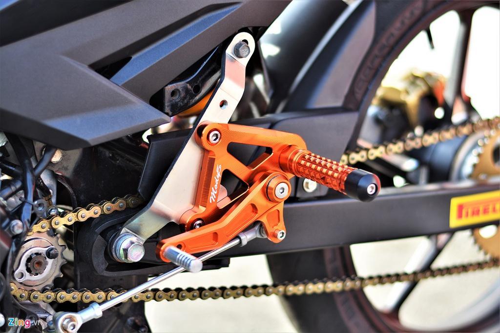 Yamaha Exciter 150 thay đổi ra sao để biến thành xe đua? Ảnh 7
