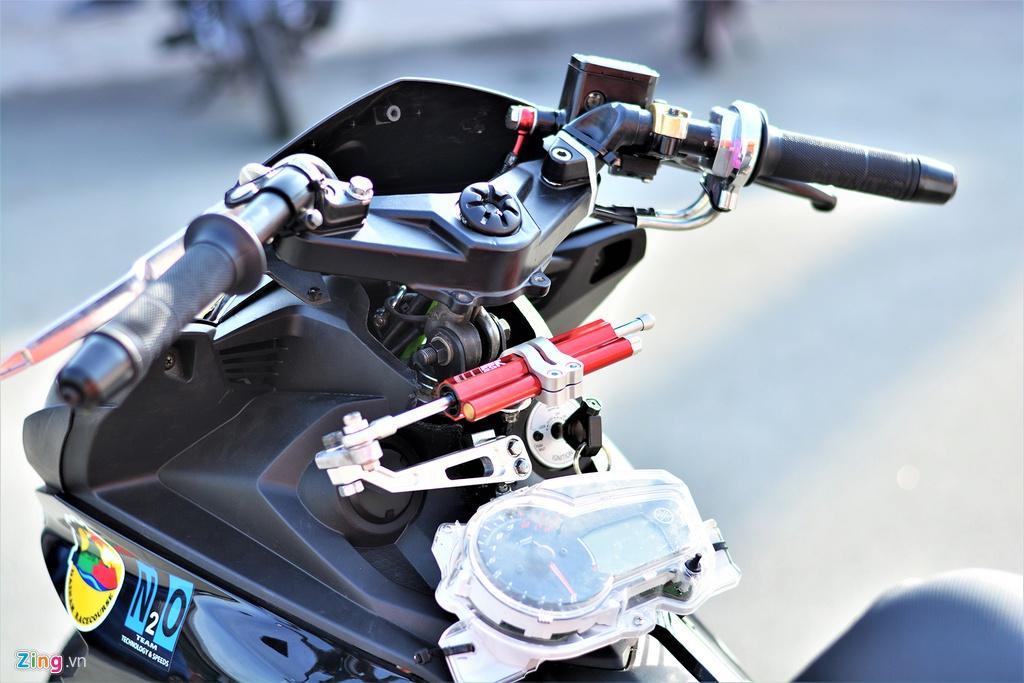 Yamaha Exciter 150 thay đổi ra sao để biến thành xe đua? Ảnh 4